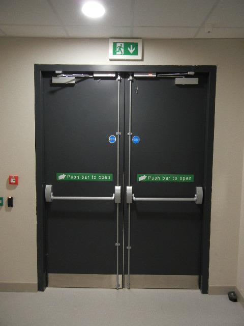 Powershield Personnel Doorsets