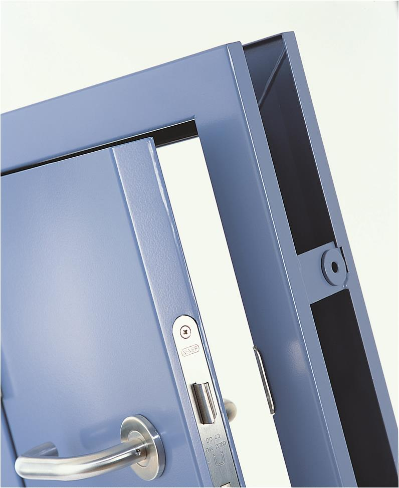 Thermo (energy saving) - Energy Saving Personnel Doorset