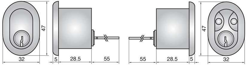 P13607 - Double Rim Cylinder