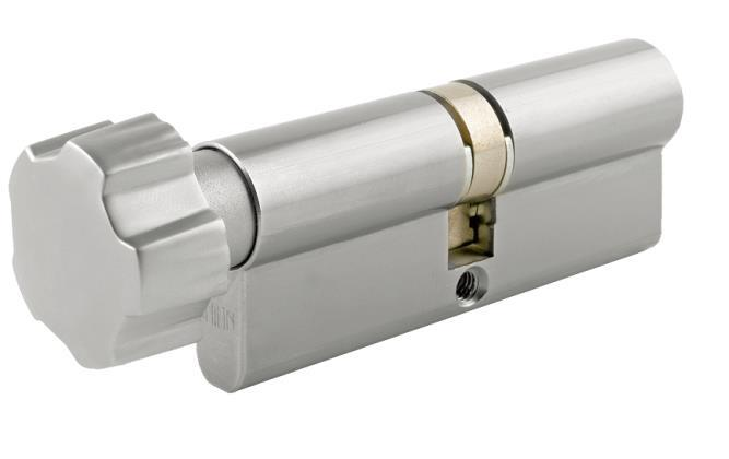 DTECET - Euro Profile Key & Turn Cylinder