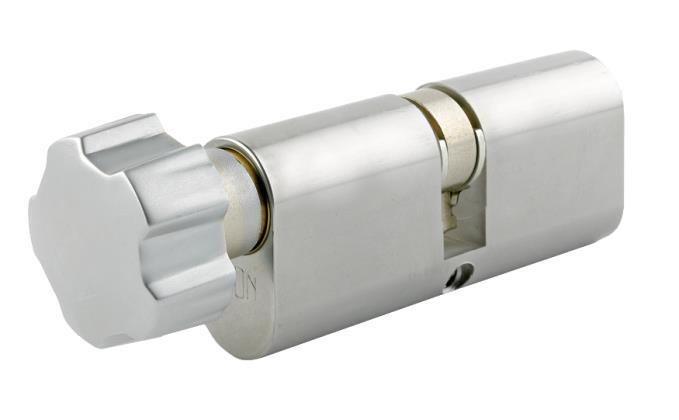 DTECOT - Oval Profile Key & Turn Cylinder