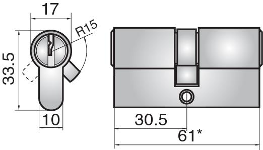 FP522 - Double cylinder