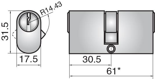 FP532 - Double cylinder