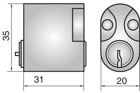 C5803 - Single cylinder (inside)