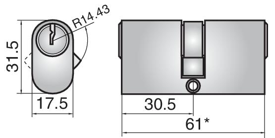 P632 - Double cylinder