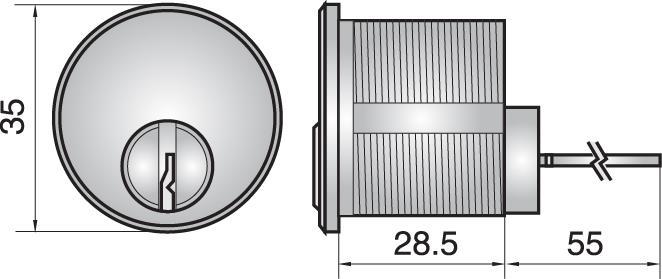 FP557 - Rim cylinder