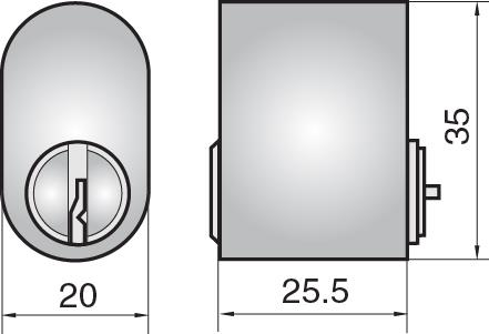 FP501 - Single cylinder (outside)