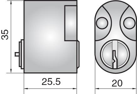 FP503 - Single cylinder (inside)