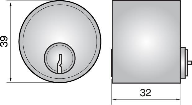 4411 - Single cylinder (outside)