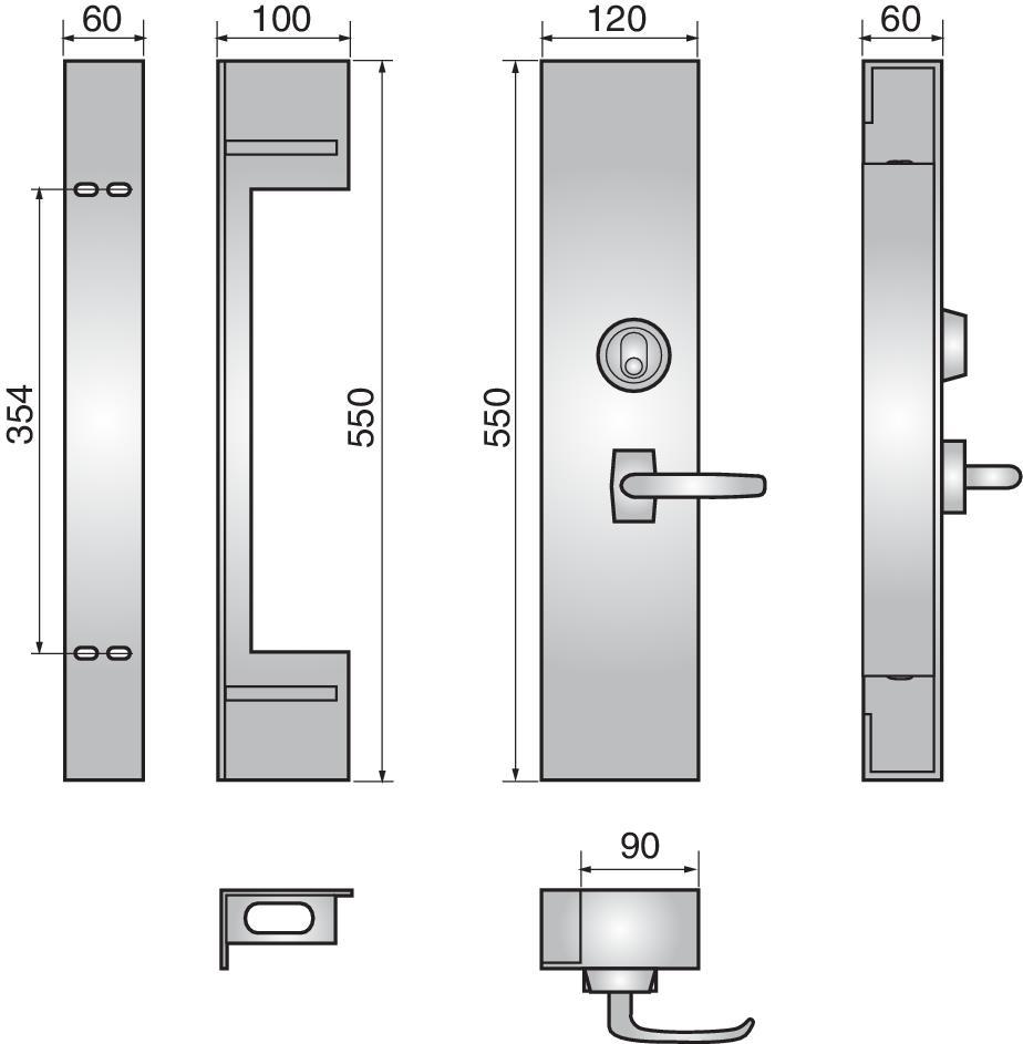 485 gate lock - 485 gate lock