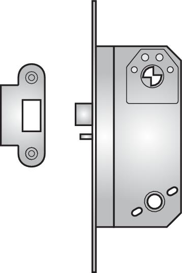 6785 - 6785 nightlatch without lock-back