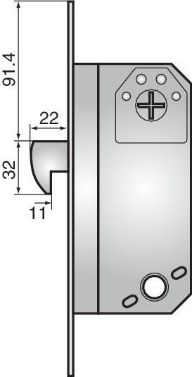 9787 high security hookbolt lock - 9787 high security hookbolt lock