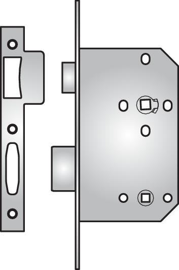D453 - D453 bathroom lock