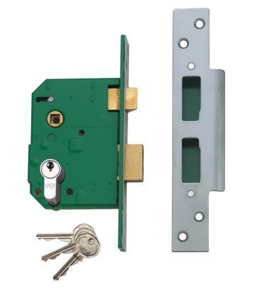 L224403 L224404 - Euro Profile Escape Mortice Lock - inward opening