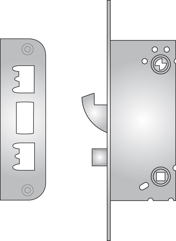310T Connect toilet lock - 310T Connect toilet lock