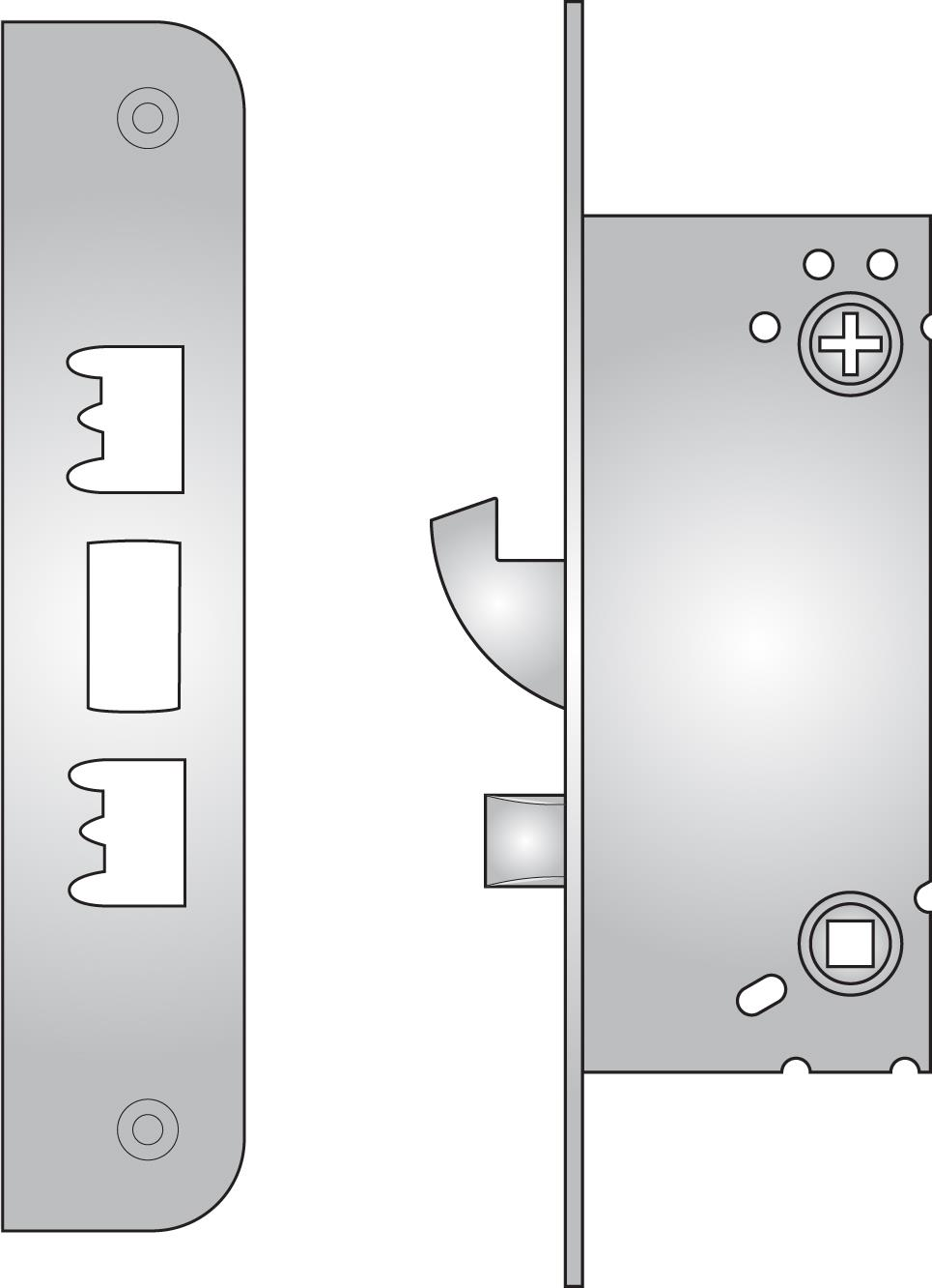 410 - 410 high security sash lock