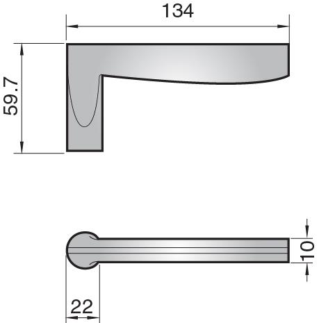 951303 - 951303 lever handle
