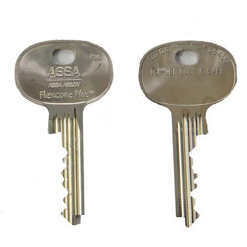 FPBKC - Flexcore Plus Blanks Keys Cut