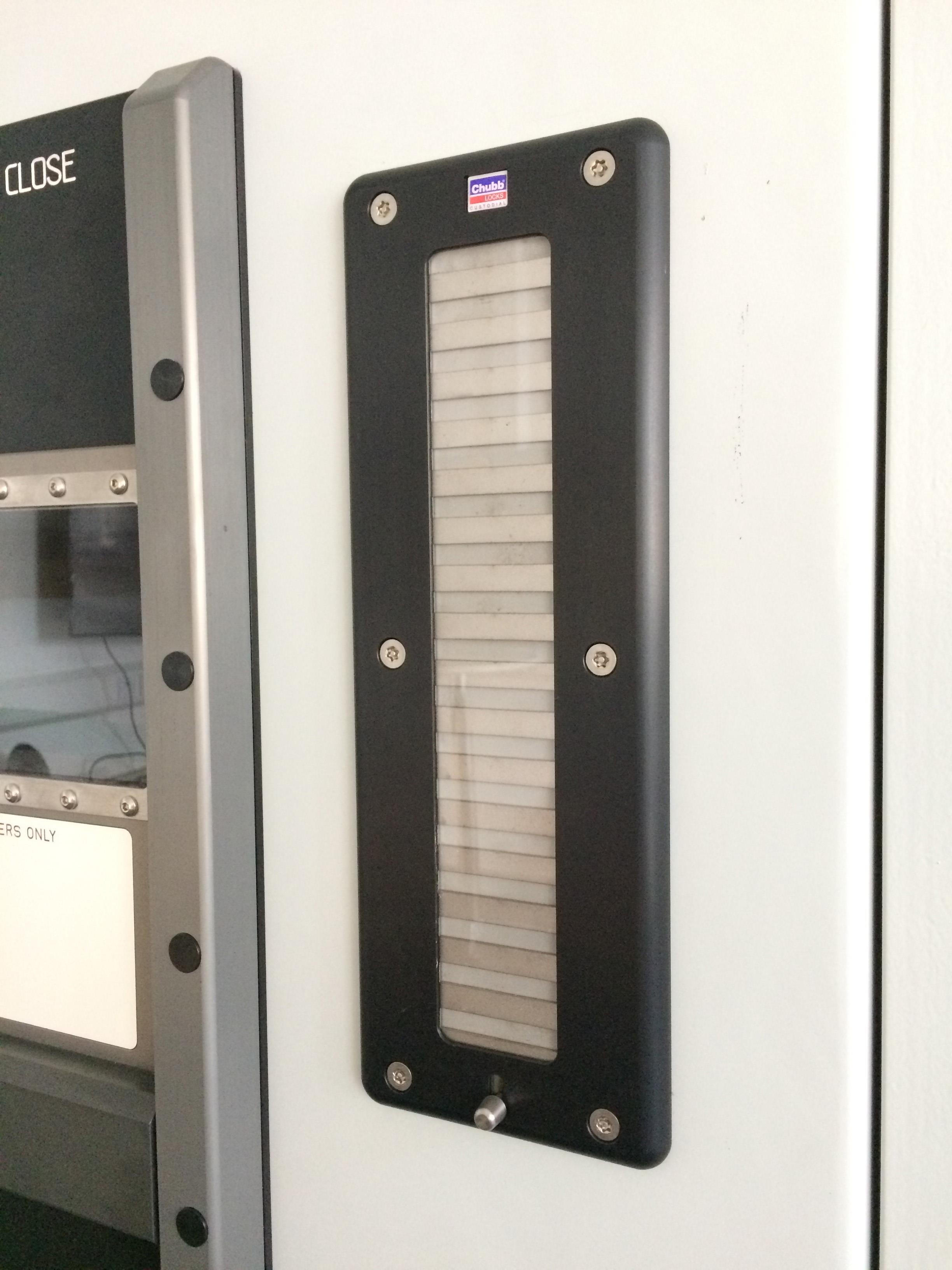 Custodial door hardware