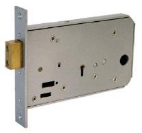 3160X - Horizontal 1 bolt mortice lock