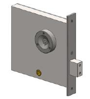 3F65 - Mortice mechanical cell lock