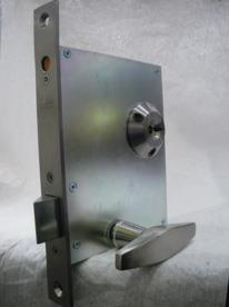 3L217.001 - Mortice electro-mechanical cell lock with DIF sensor