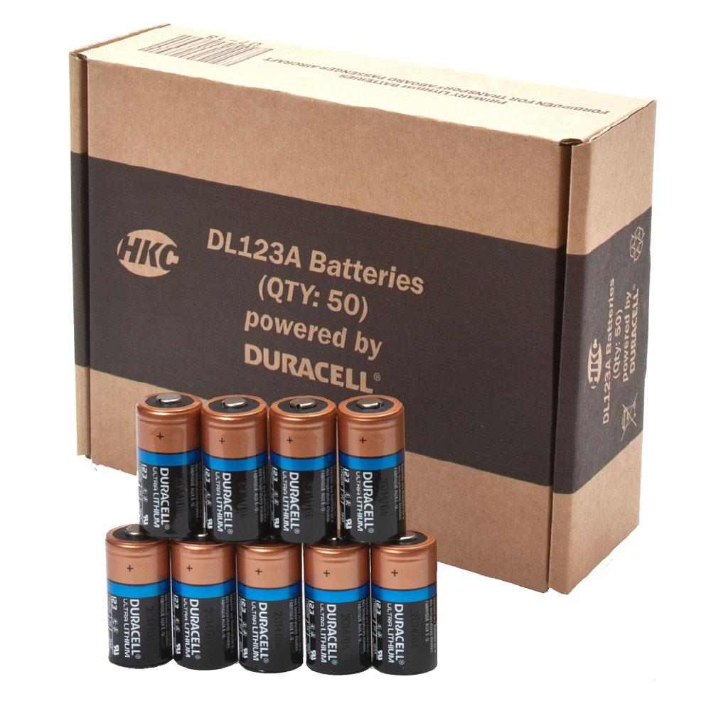 BAT-DL123A - Battery 3V Lithium (Box 50)