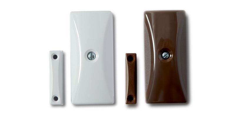 SEN-W / SEN-WR - ID Sensor (Inertia) w/Reed - White / Brown