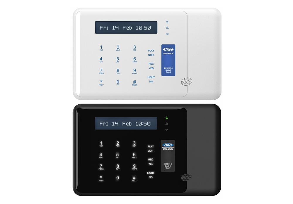RKP-T - Touch Intruder Keypad (with Capacitive Touch screen)