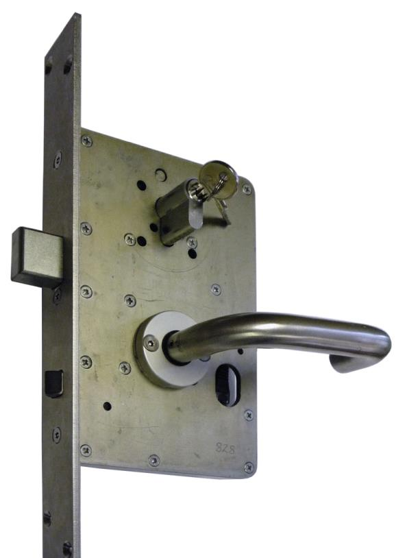 L8789 - High Security External Access Control Lock