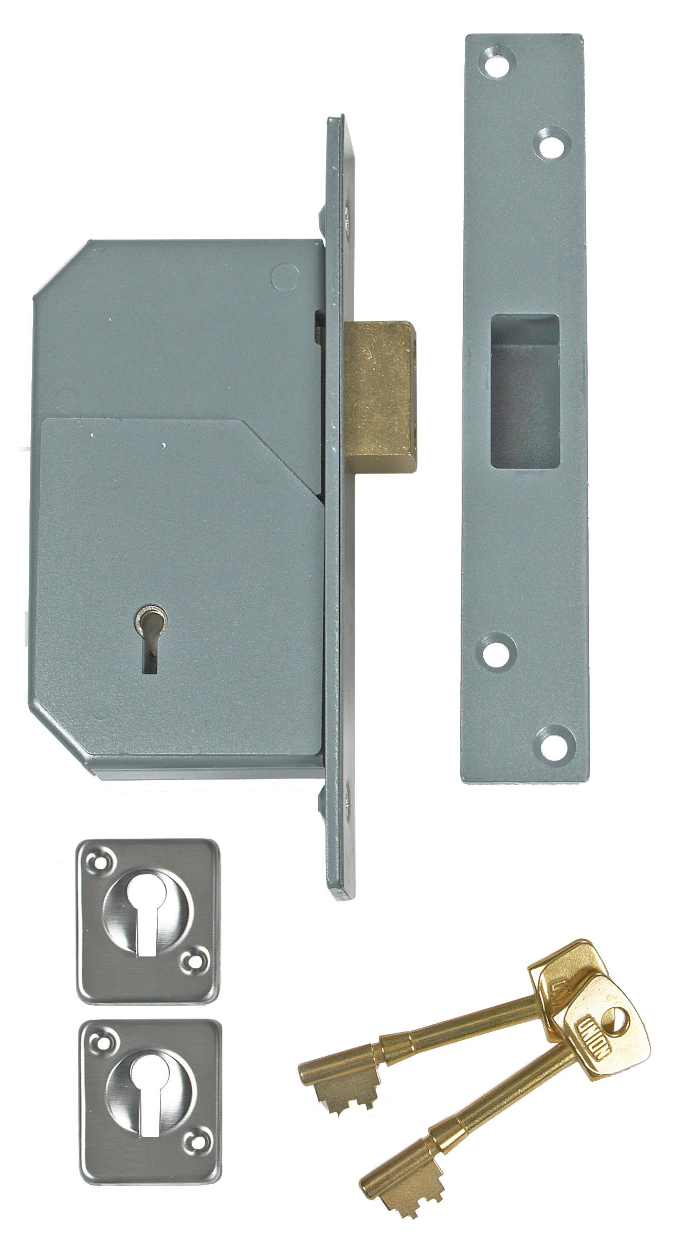 3G110 - 5 Detainer Mortice Deadlock