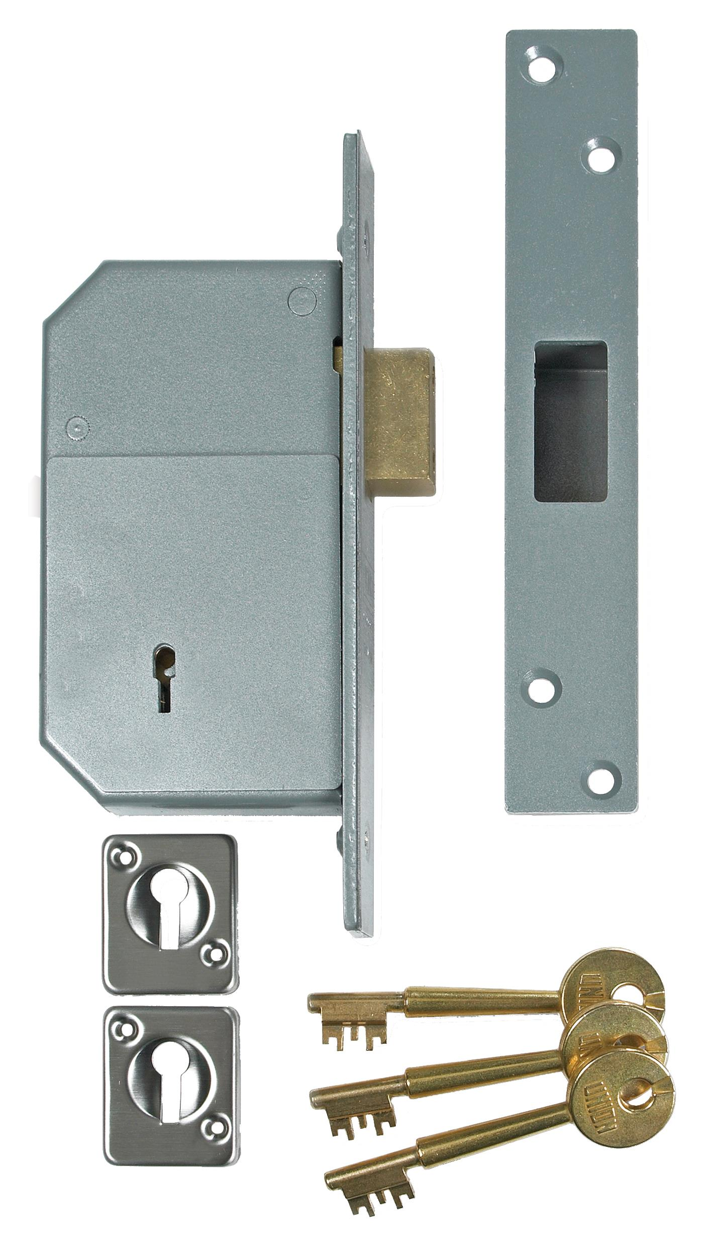 3G135 - 5 Detainer Mortice Deadlock 'Fortress'