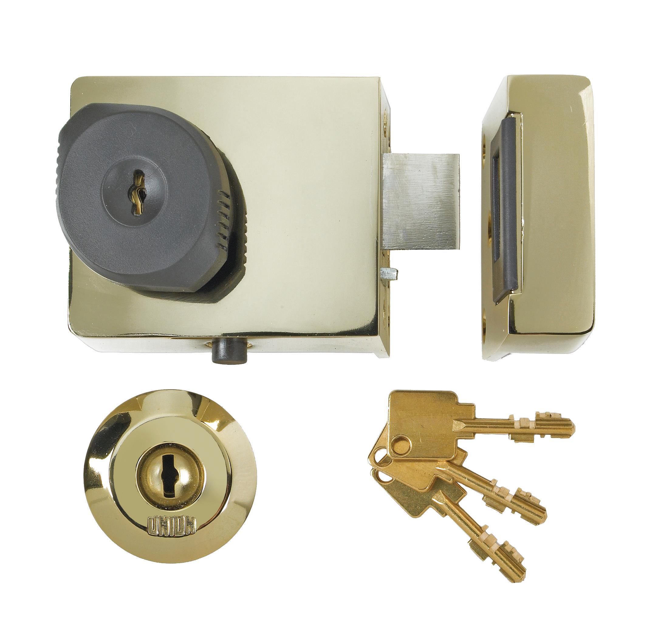 4L67E - C-Series BS High Security Rim Lock