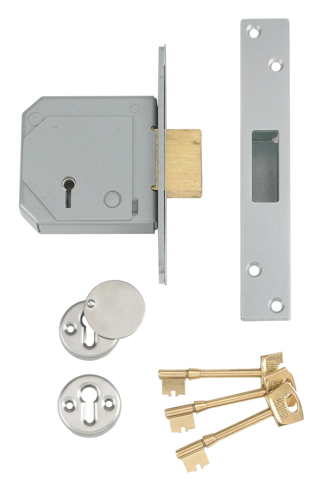 3G114E - BS 5 Lever Mortice Deadlock