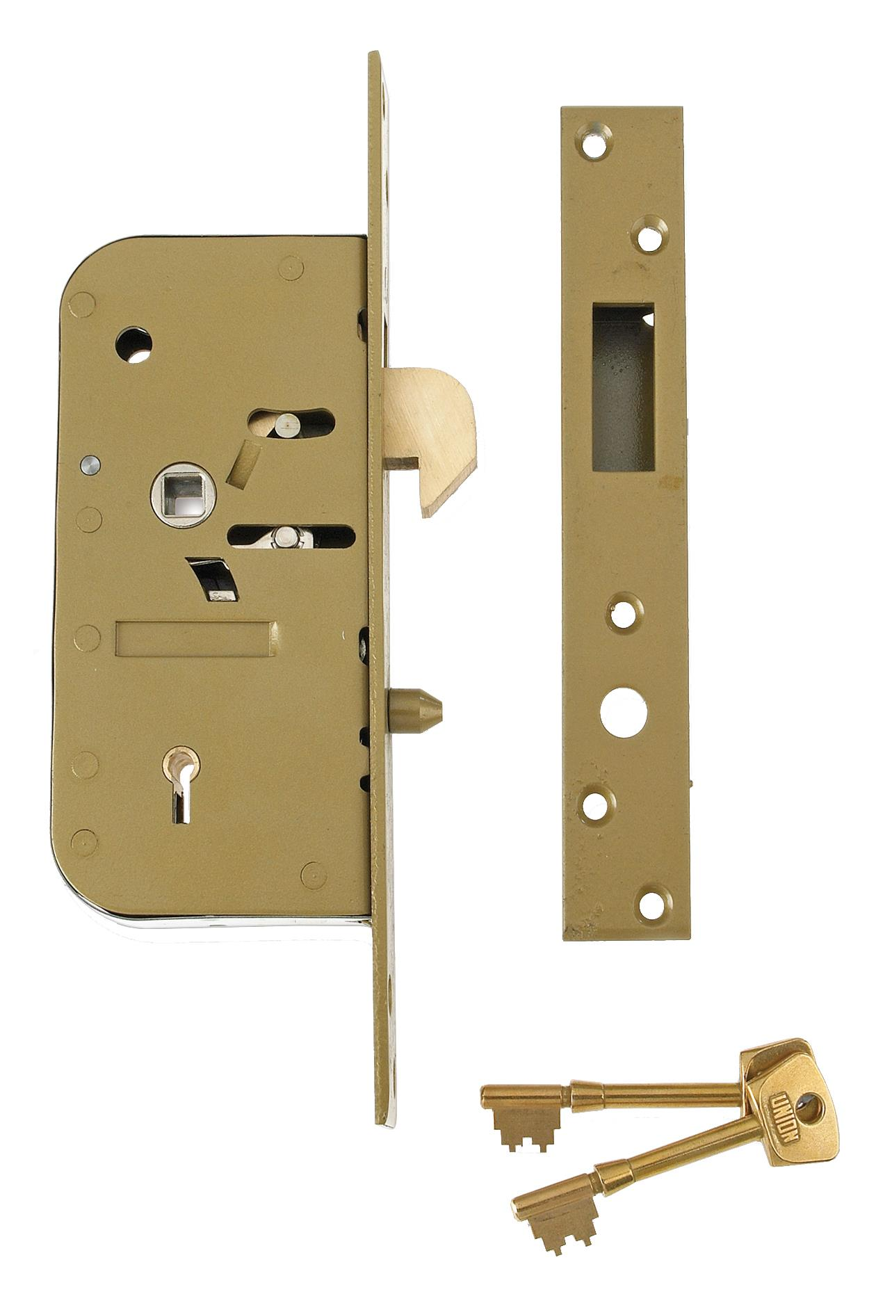 3M51 - 5 Detainer Clutch Mortice Lock