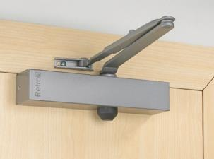 Retro3 & Retro4 - Retrofit Door Closer