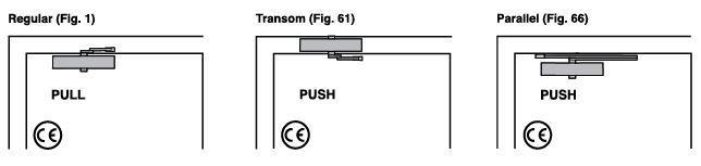 CE24V - Rack & Pinion Closer