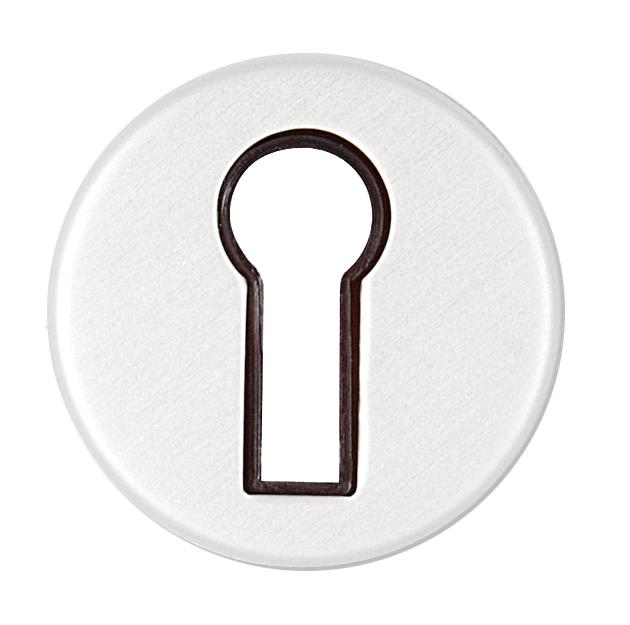 J3L­AS - Keyhole Escutcheon (formerly Wellington range)