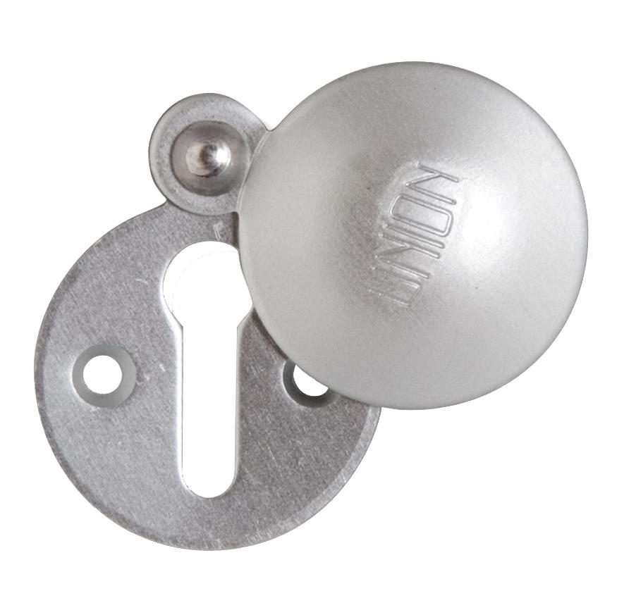 5340 - Covered Keyhole Escutcheon