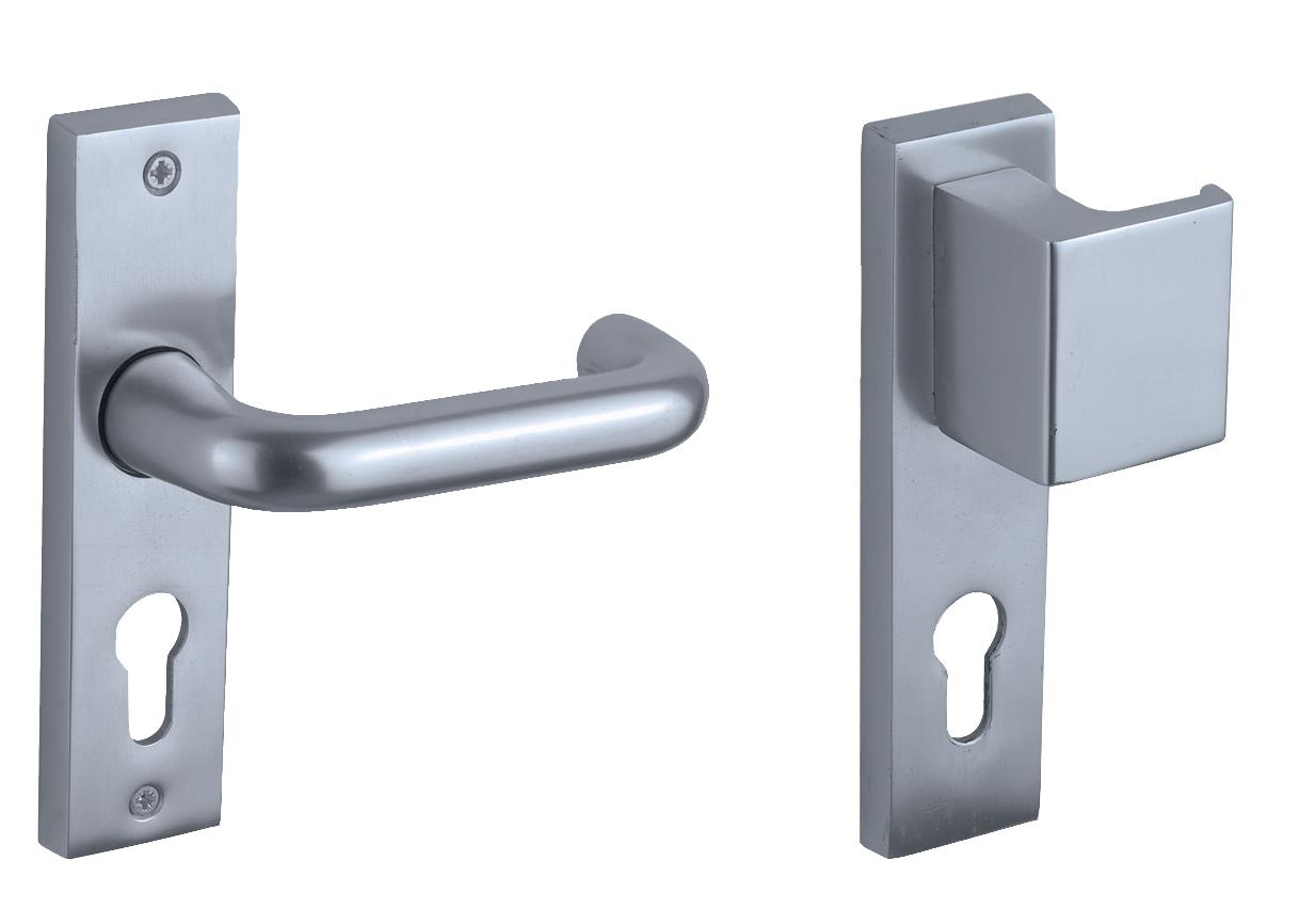 630-16-3 - Lever / Pull Night Latch Sash Lock Furniture