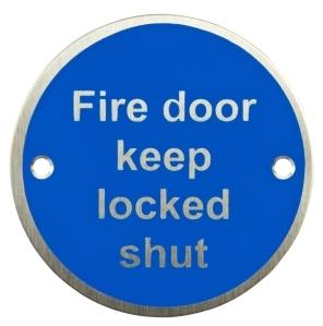AA-FDKL - Fire Door Keep Locked