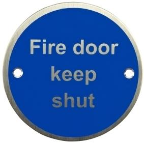 AA-FDKS - Fire Door Keep Shut