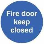 AA-AFDKC - Fire Door Keep Closed