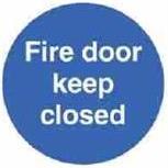 AA-AFDKC - Fire Door Keep Closed
