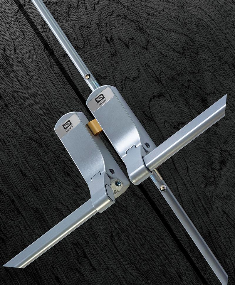 CE852DDREB - ExiSAFE Panic Set for Rebated Double Doors