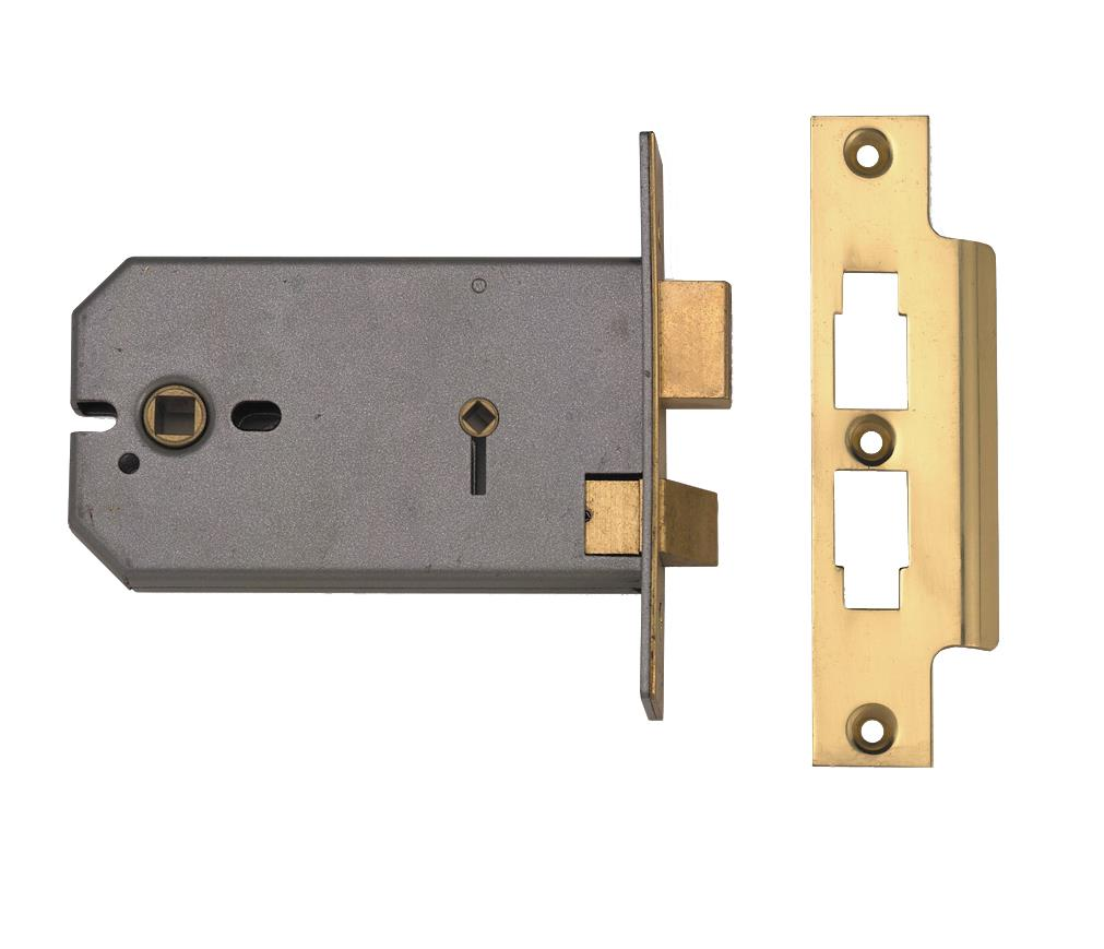 2026 - 3 Lever Horizontal Bathroom Lock