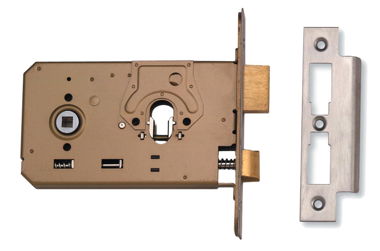 L2072 - Horizontal Sash Lock - Knob Operation