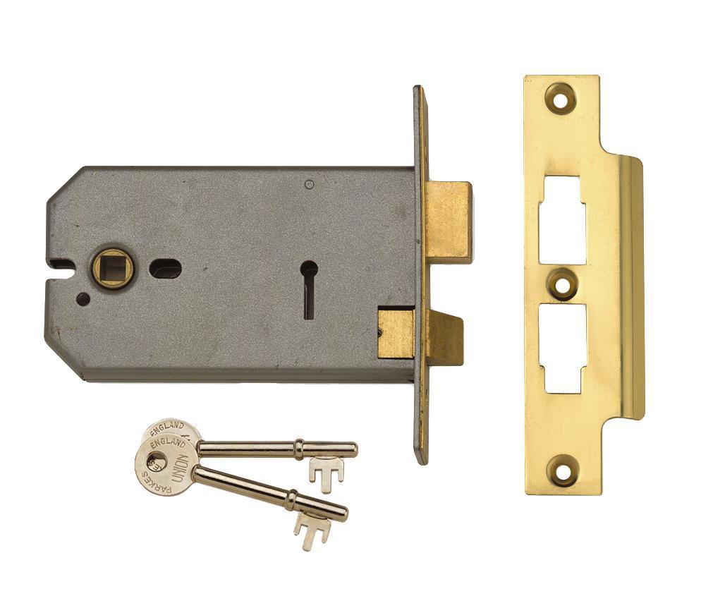 2077 - 3 Lever Horizontal Mortice Lock