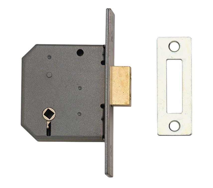 2126 - 3 Lever Bathroom Deadlock