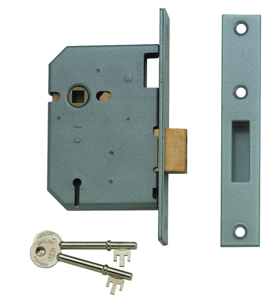 21572 - 3 Lever Escape Mortice Deadlock